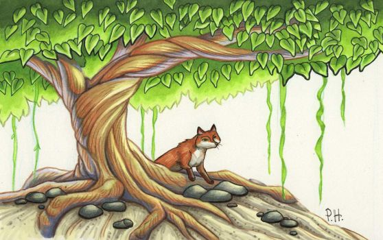 FoxTree by chaypeta