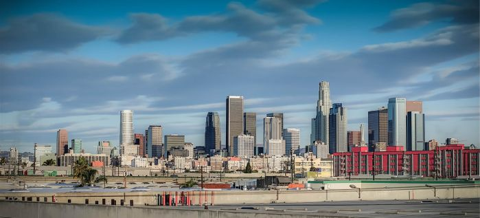 Downtown Los Angeles by mikytrance