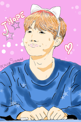 J Hope by me by LuffySwan