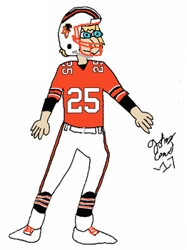 Random 1980s BC Lions player by FromEquestria2LA