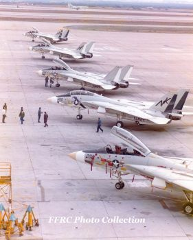 VF-2's brand new F-14A on the ramp, Dec 27 1973 by fighterman35