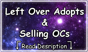 [ Left Over Adopt + Selling OCs ][more added] by KoffeeAdopts
