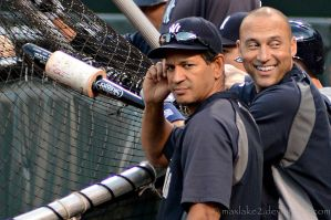 Derek Jeter and Martin Prado by maxlake2