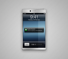 iPhone concept by StreamingPixels