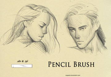 Pencil Brush by xiliuv