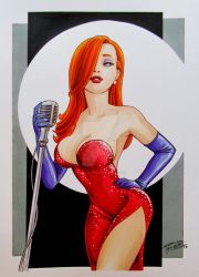 Jessica Rabbit by KidNotorious