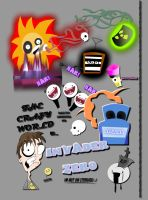 The crazy world of... by Invader-Zero