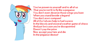 Pegasus Device - Rainbow Dash by tails-fangirl