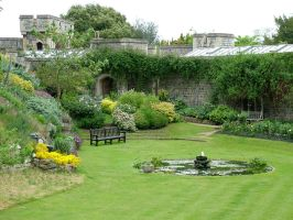 Gardens of Windsor Castle 3 by laughcrylive