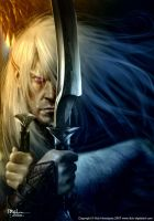 Drizzt Do'Urden by Ilacha