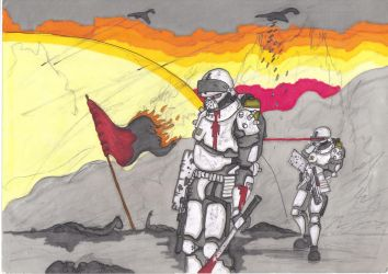 War goes on promarker by savagehenry89