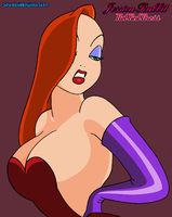 Jessica Rabbit - Red Hot Dress by ShadowNinjaMaster