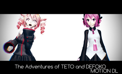 [WATCGAVE]The Adventures of Teto and Uta MotionDL by ThisisKENZ