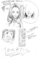 PAINT TOOL SAI PENCIL BRUSH (No Download) by HONEYxPOISON