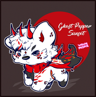 Ghost Pepper Sunset Shiberoll - Auction (Closed) by WolfxPrince