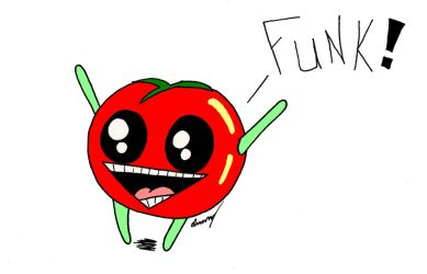 Funky Tomato by SunnyArts
