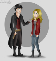Day 5- Hook and Emma by TheCarmiBug
