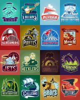 Disneyland Sports Teams by Xelku9