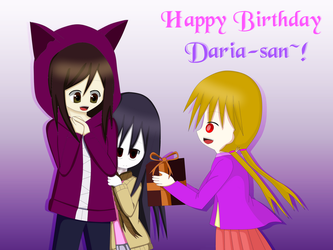 Happy birthday, Daria-san! by TashaShazali