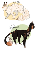Warrior cats Auctions by Buff-Spud