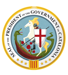 Seal of the President of Catalonia by mausetta