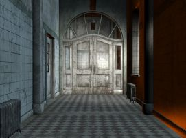premade  background room 02 by Ecathe
