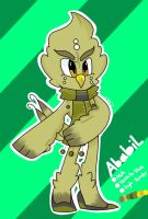 Ababil the Owl by Odesiya