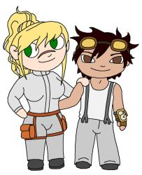 Metal and Gear chibis by EvilAuthor
