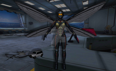 Wasp (Ant Man and the Wasp) by Pitermaksimoff