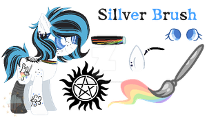 | + Sillver Brush {MLP/Base/RefSheet} + | by TheChoccoBear