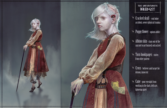 Wild west challenge - The Ugly law - Bridget by Roiuky