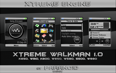 Xtreme Walkman 1.0 by XtremeEngine