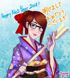 New Year Greetings by Jiubeck