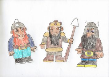 Dwarves (2) by trexking45