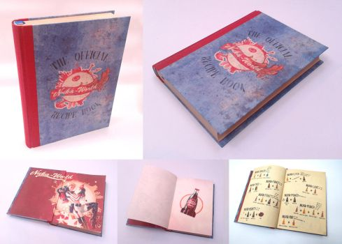 The Official Nuka World Recipe Book by Vanyanie