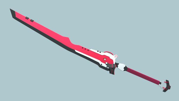 Lionheart  Sword - Ember Heart . 1st Form by Plateal