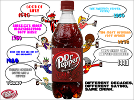 Decades of Dr Pepper by Christopia1984