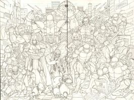 teenage mutant ninja turtles by c-crain