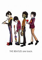 The Beatles Are Back by thebodhisattva