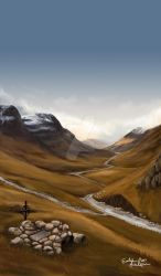 Highlands of Scotland by EvelinaLindqvist