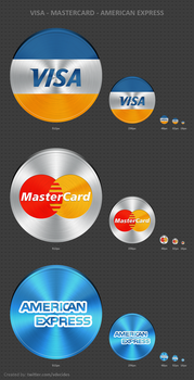Payment Gateway Icons by vdecides