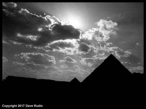 The Pyramids of Giza, Egypt, 2017 by DaveR99