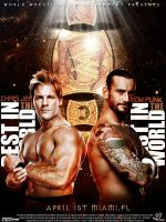 Chris Jericho vs. CM Punk Poster by isharkfeli