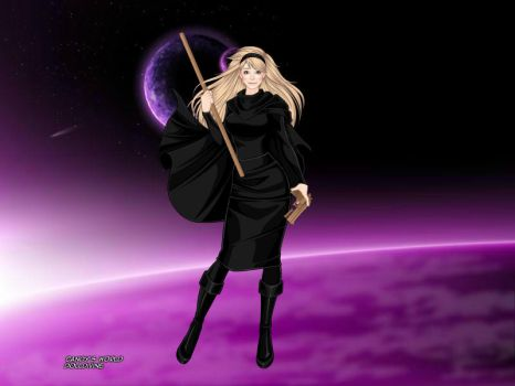 SB: COTSBY - Concept Art - Maetel by PeachLover94
