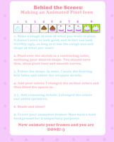 Tutorial - Animated Pixel Icon by Sugary-Stardust