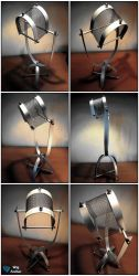 Cyclops desk lamp concept by WigArcher