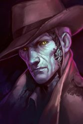 Nick Valentine by SineAlas