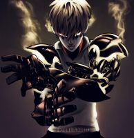 One Punch Man Genos by Delila2110
