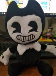 Real Bendy Plush doll by Ghostly-Host