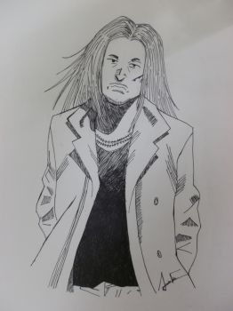 Otcho (20th Century Boys) by AriadnaFdez